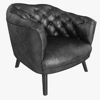 Arm Chair Black
