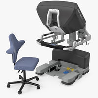Surgeon Console Da Vinci XI with Chair