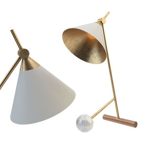cleo table lamp 3D model