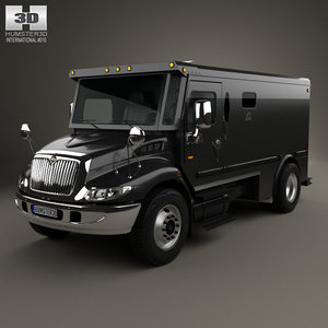 international durastar armored 3D