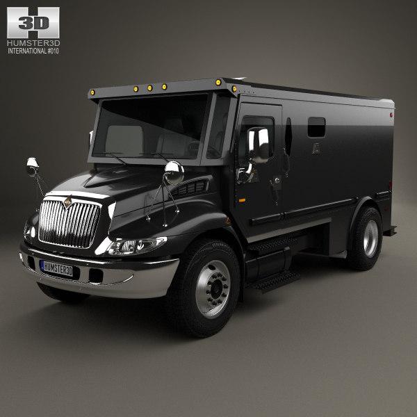 international durastar armored 3D