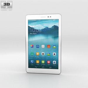 huawei honor tablet 3D model