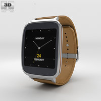3D asus zenwatch watch model