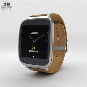3D asus zenwatch watch model