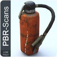 extinguisher scan 3D model