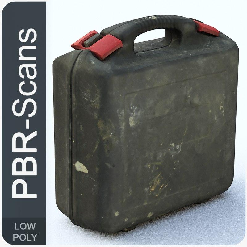 suitcase tool scane 3D