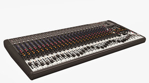 3D model mixing console