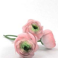 3D ranunculus flowers model