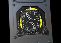 3D altimeter modeled