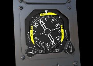 3D altimeter modeled