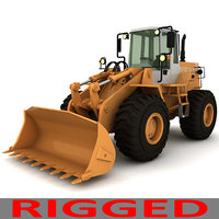 Rigged Fiat-Allis Loader FR 130