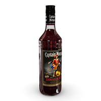 captain morgan jamaica rum 3D