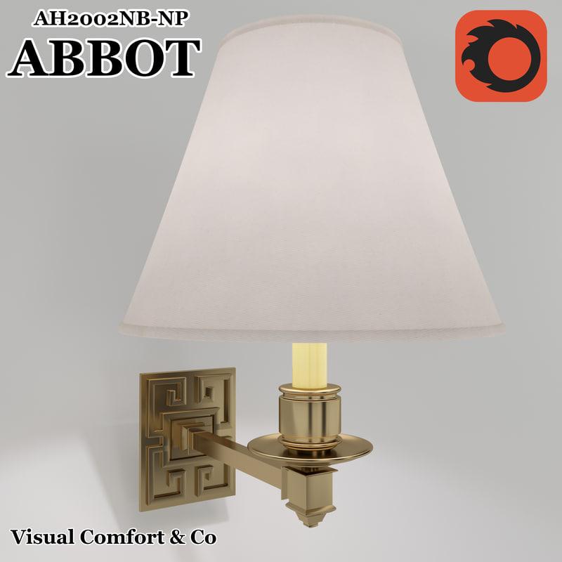 3D abbot model