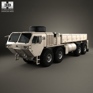 oshkosh hemtt cargo model