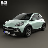 opel adam rocks 3D model