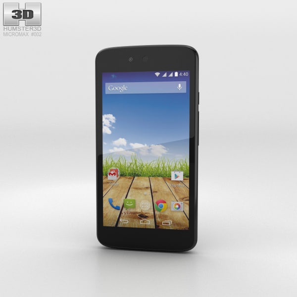 micromax canvas a1 3D model