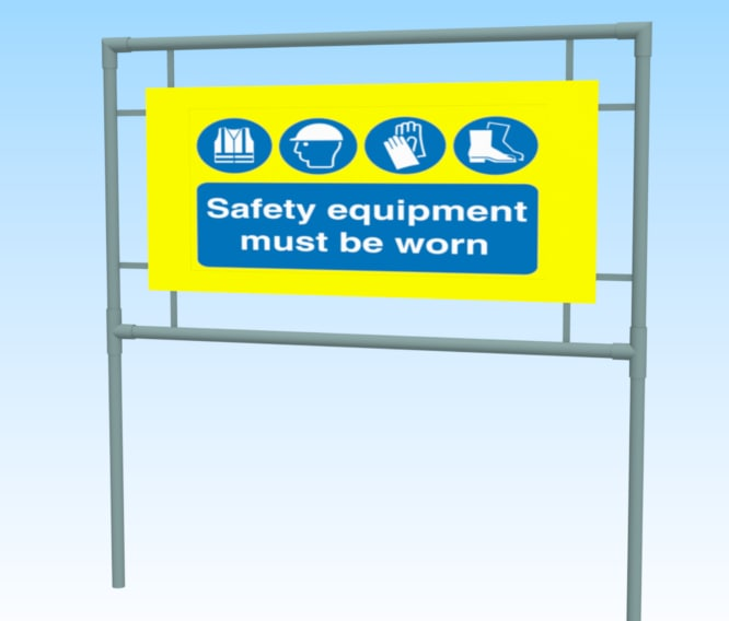 safety signs 3D