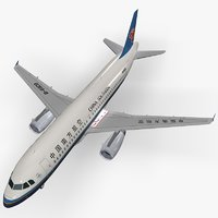 airbus a320-232 china southern model