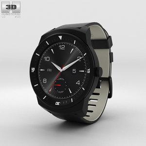 3D lg g watch model