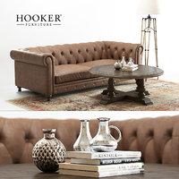 hooker alexa sofa 3D model