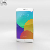3D meizu mx4 gold
