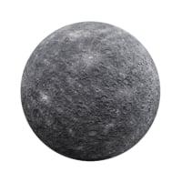 photorealistic mercury model
