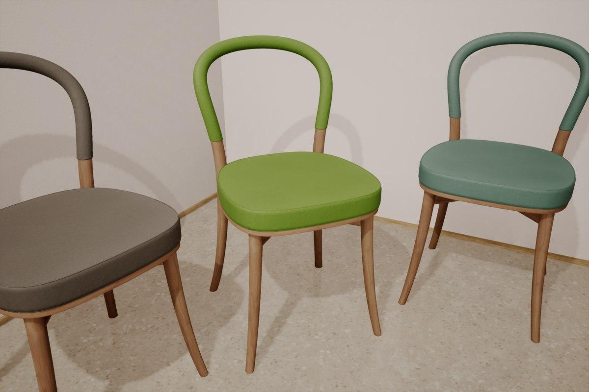 3D goteborg chair erik gunnar