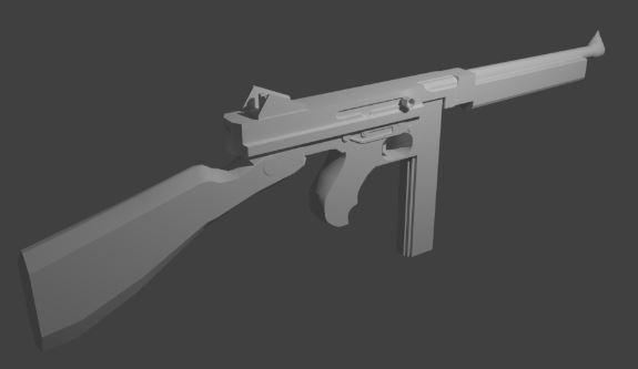 thompson m1a1 model