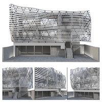 Futuristic building 4