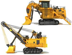 mining shovel model