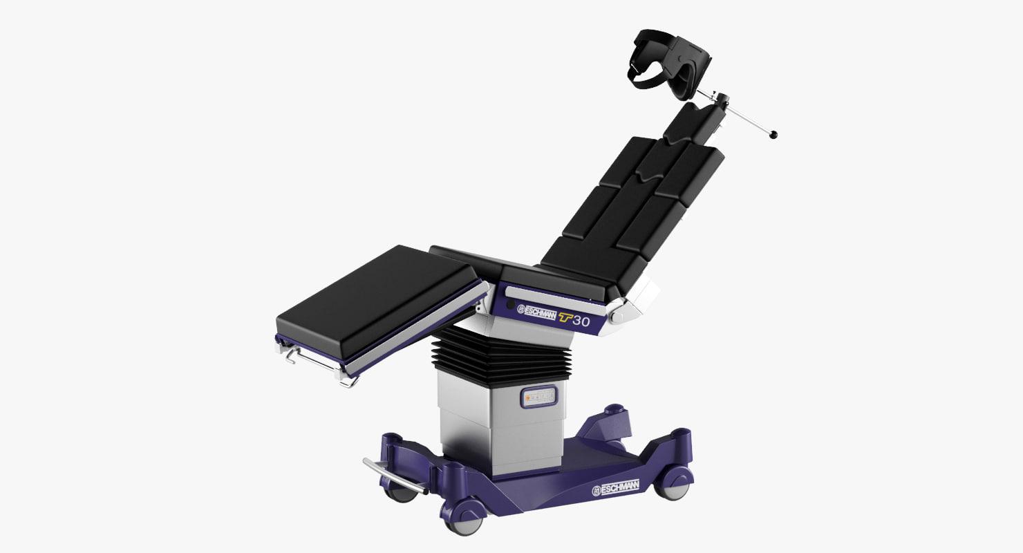 operating table eschmann t30 3D