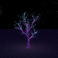 new year tree 3D model