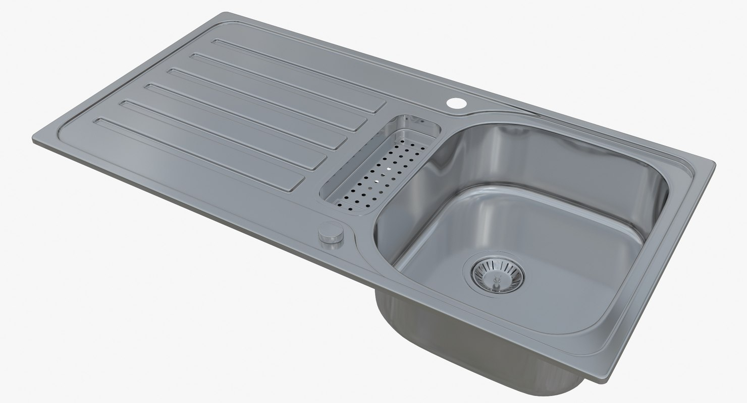 3D sink blanco lantos 5 model - TurboSquid 1234131