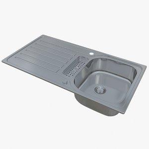 3D sink blanco lantos 5 model