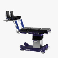 operating table eschmann t50 3D model