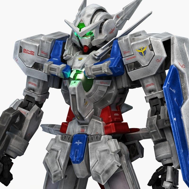 3D gny-001 gundam astraea model