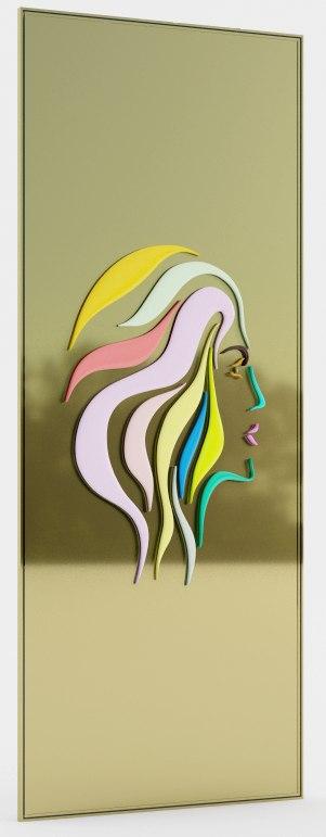 woman frame 3D model