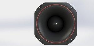3D tweeter speaker 180mm