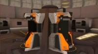 sci fi cryo pod 3D