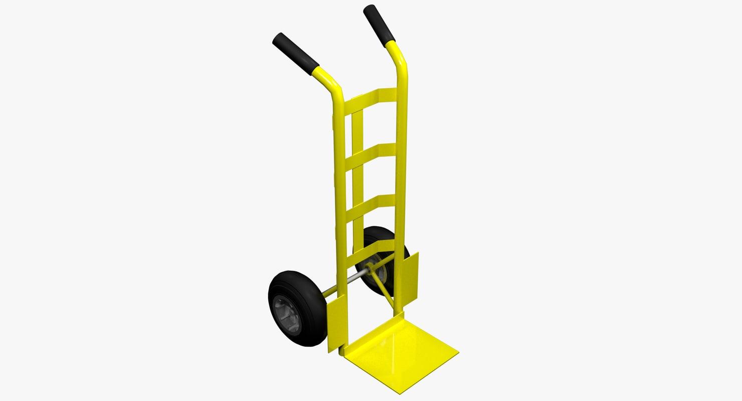 hand truck cart model
