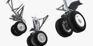 3D boeing 737 landing gears model