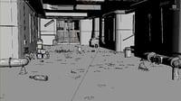Subway 3d scene