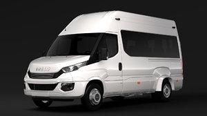 3D iveco daily minibus l3h3