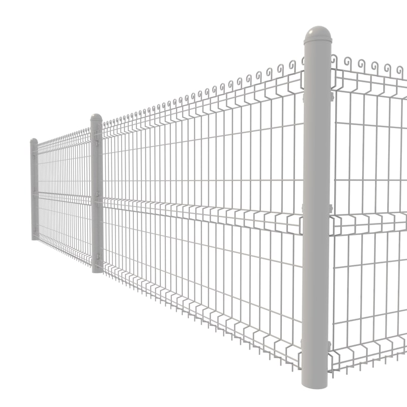 3D custom fence metal