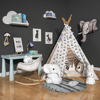 Children room set 04