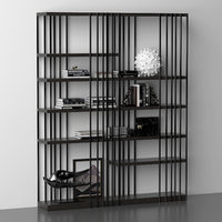 3D cattelan italia rack model