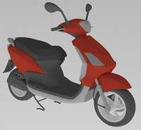 scooter 3D