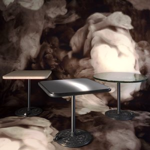 tom dixon roll table 3D model