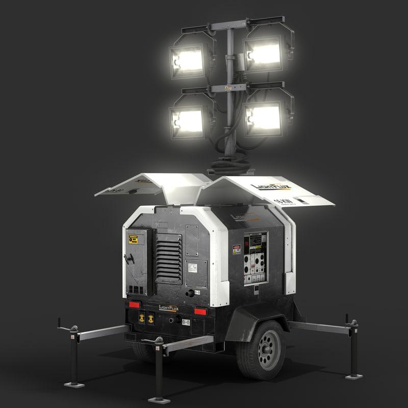 light tower generator model