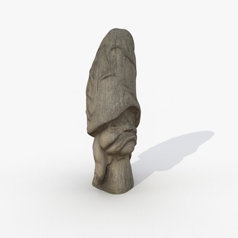 3D model scanned 1 magic mushroom